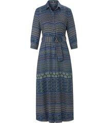 jurk in maxi-lengte 3/4-mouwen van riani multicolour