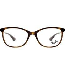 armação óculos de grau ray ban rx7106l 5999-53