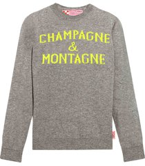 champagne & montagne womans sweater