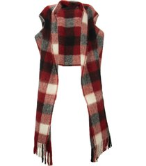 marni arbutus large scarf with slits