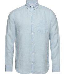 levon shirt 5706 overhemd casual blauw nn07