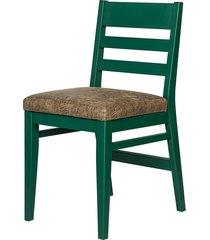 krzesło hine - lekkie bukowe tapicerowane