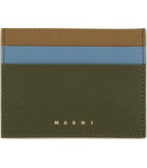 marni saffiano leather card holder