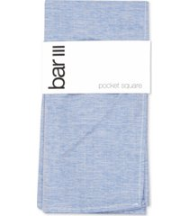 bar iii men's beach solid pocket square, created for macy's