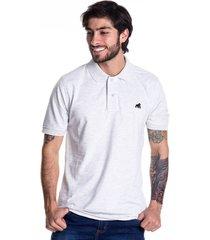 camiseta tipo polo goco 1718 gris claro