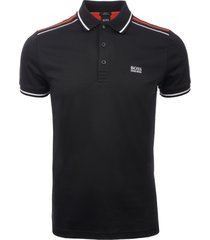 boss black paule 1 ss colourblock polo shirt 50399450-001