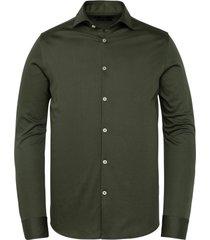 vanguard overhemd donkergroen mf vsi211206/6448