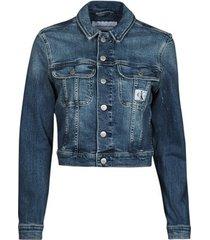 spijkerjack calvin klein jeans cropped 90's denim jacket