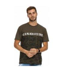 camiseta vlcs swag standard marrom