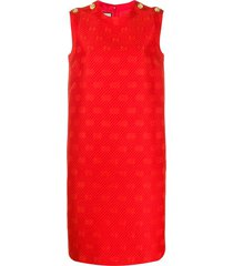 gucci gg tunic dress - red