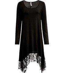 abito con fondo in pizzo (nero) - rainbow