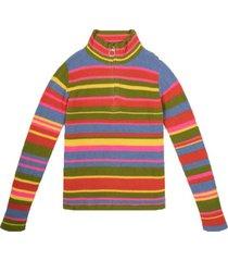 funnel neck zip sweater