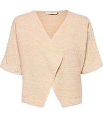 crsillar knit bolero stickad tröja cardigan creme cream