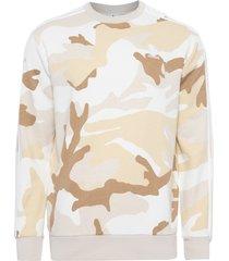 blusa masculina de moletom camo - marrom