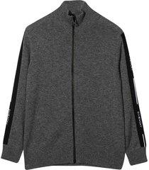 givenchy gray cardigan