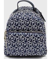 mochila azul tommy hilfiger