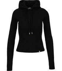 1017 alyx 9sm alyx ribbed-knit hoodie