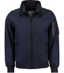 bomber jas donkerblauw