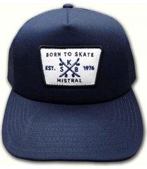 gorra azul mistral currice