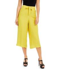 thalia sodi gauze pull-on capri pants, created for macy's