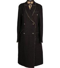 uma wang riccardo coat