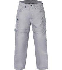 pantalon canvas mix-2 gris medio lippi