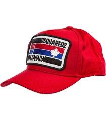 dsquared2 k/ikonik kapri baseball cap