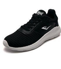 tenis running negro-blanco everlast nimbus-c1