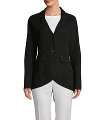 cashmere equestrian blazer