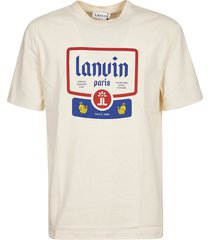 lanvin big label t-shirt