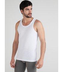 camiseta interior manga sisa blanco l