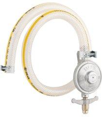kit para gás imar, regulador com mangueira - 0728/02