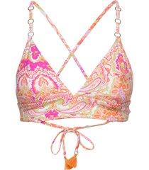 fixed tri bralette bikinitop roze seafolly