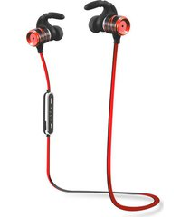 audífonos bluetooth, s3 auriculares inalámbricos audifonos bluetooth manos libres  auriculares impermeables auriculares estéreo bajo auriculares potable auriculares deportivos con micrófono (rojo)