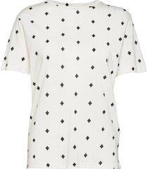 angell blouses short-sleeved vit by malene birger