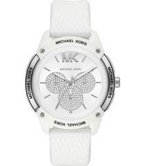 reloj fashion blanco michael kors