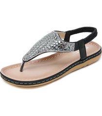 sandalias mujer zapatos planos suaves y cómodos