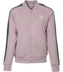sweater puma classics t7 track jacket