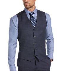 awearness kenneth cole blue suit separates vest