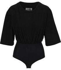 mm6 maison margiela mm6 t-shirt bodysuit