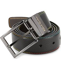 simulated leather belt
