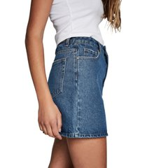cotton on the classic denim skirt