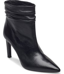 booties 5232 shoes boots ankle boots ankle boot - heel svart billi bi