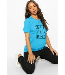 different graphic t-shirt, blue