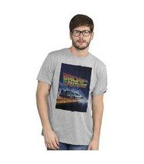 camiseta bandup! back to the future delorean
