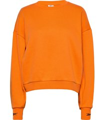 sr over d coverup sweat-shirt tröja orange reebok performance