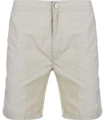 onia chino style swim shorts - grey