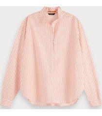 scotch & soda oversized blouse