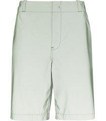 sies marjan sterling reflective bermuda shorts - green