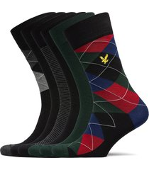 jasper underwear socks regular socks grön lyle & scott